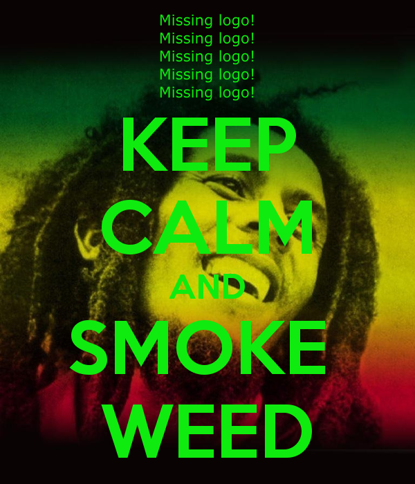 Keep Calm And Smoke A Blunt Wallpaper