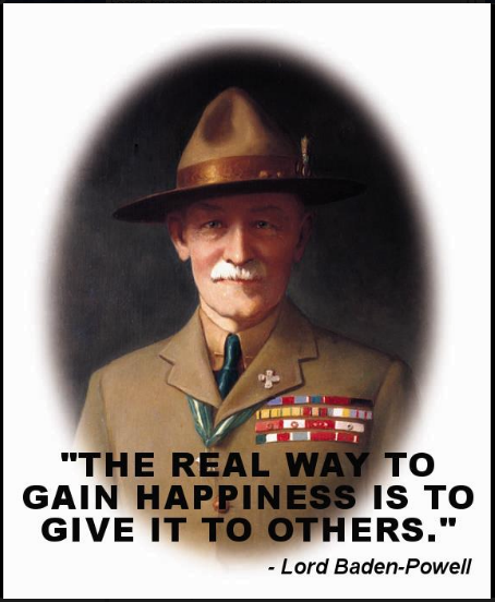 Boy Scout Essay With Quotes: Lord Baden Powell Quotes. QuotesGram