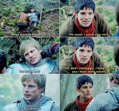 Merlin Tv Show Quotes Quotesgram