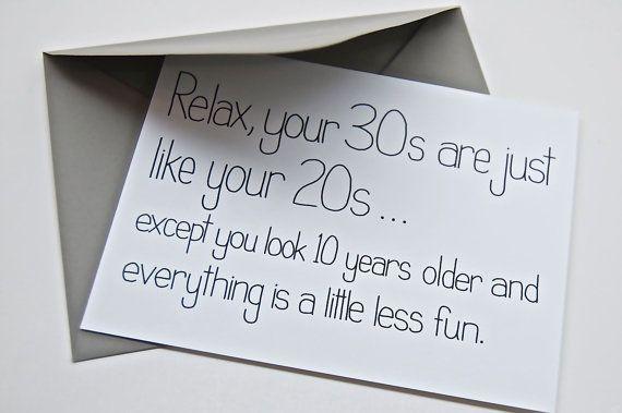 Funny 30Th Birthday Cards gangcraftnet – Funny 30th Birthday Cards