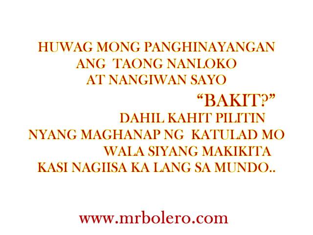 Family Sad Quotes Tagalog. QuotesGram