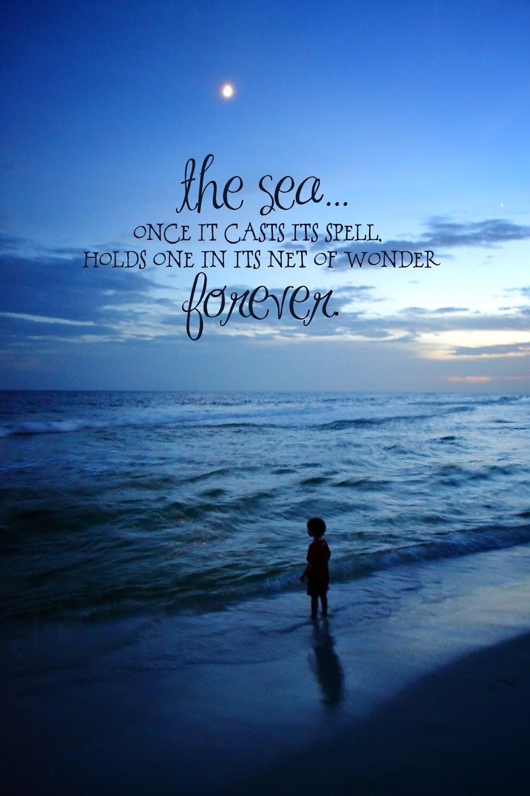 Beach Birthday Quotes Quotesgram