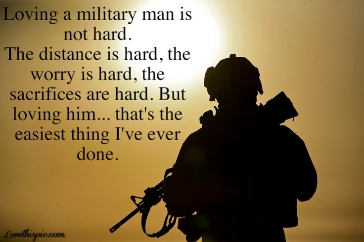 Good military love quotes