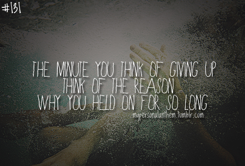 Sad Quotes About Giving Up. QuotesGram