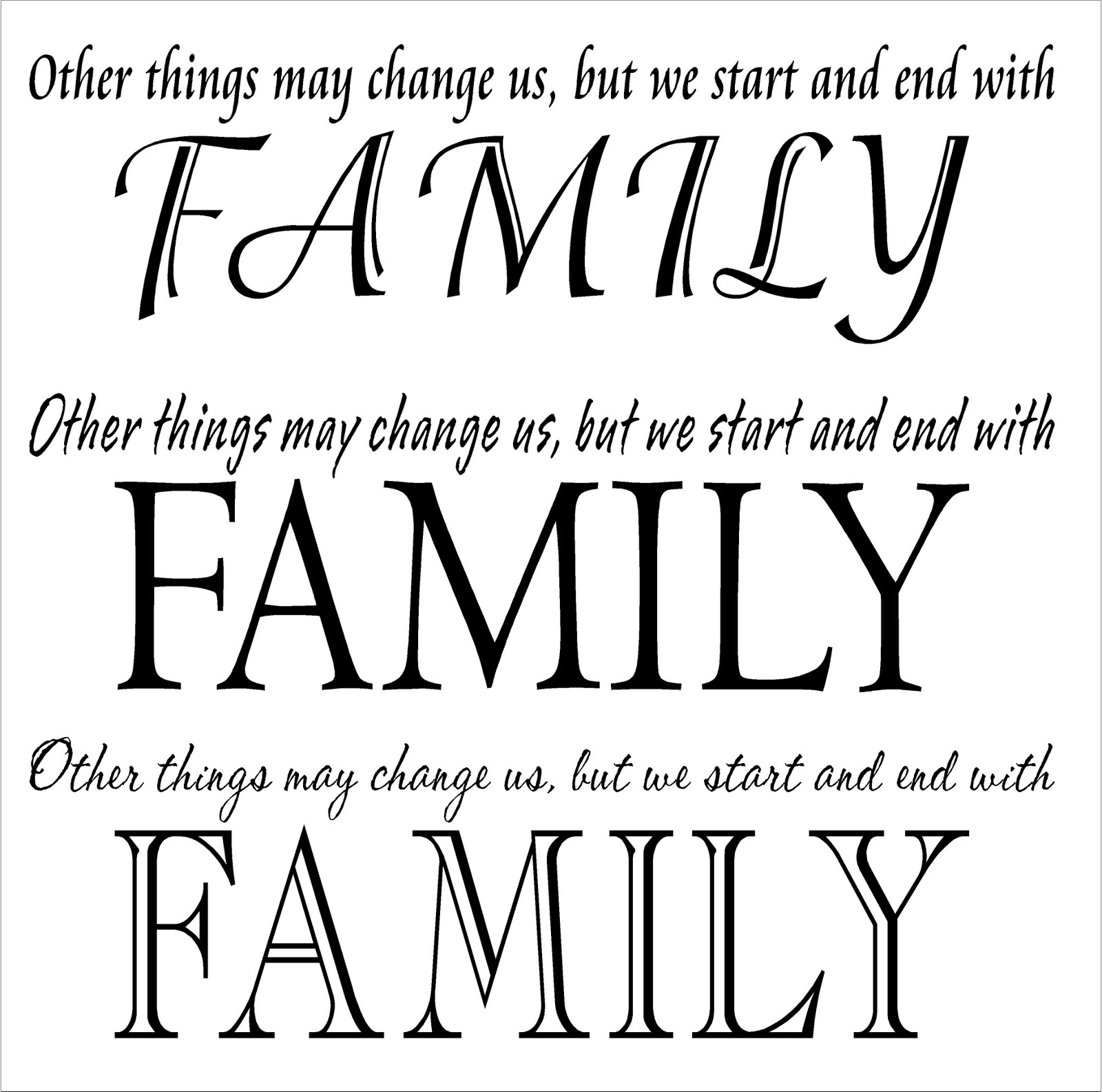 Family Quotes With Picture: Family Reunion Quotes And Sayings. QuotesGram