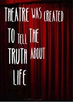 Theater Arts Quotes Funny. QuotesGram