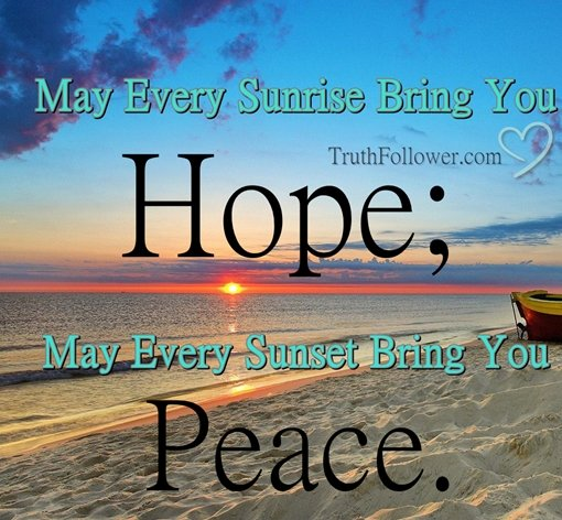 sunrise pictures with quotes - 510×499