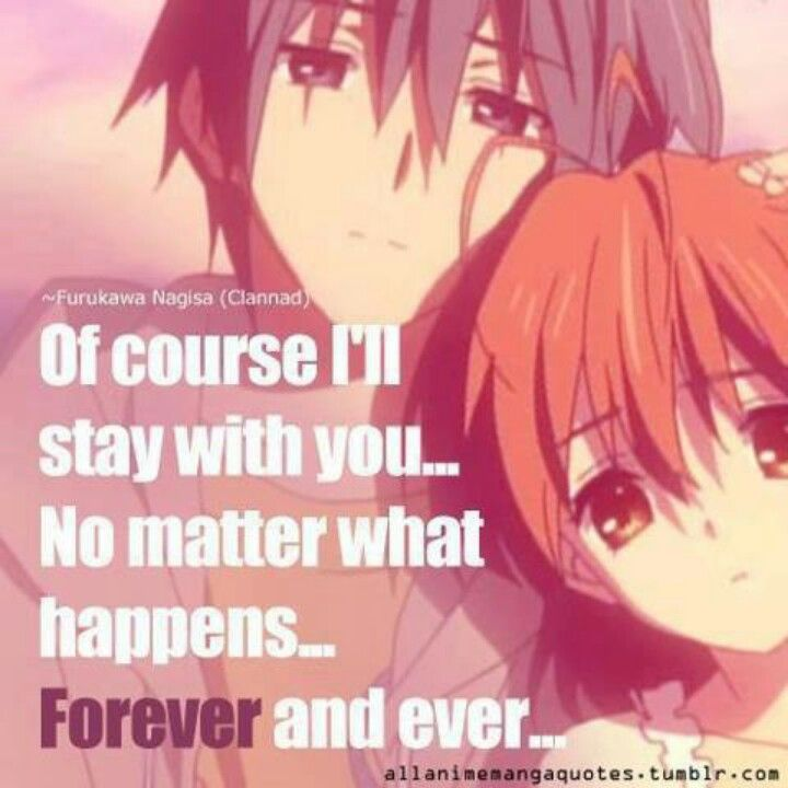 Clannad Love Quotes Quotesgram