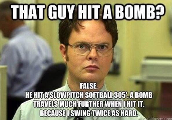 Funny Slow Pitch Softball Quotes Quotesgram