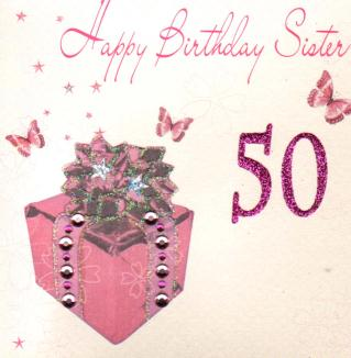50th Birthday Quotes Sister Quotesgram