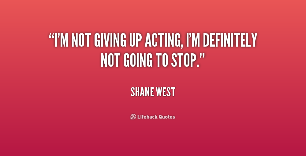 im giving up on life quotes - photo #26