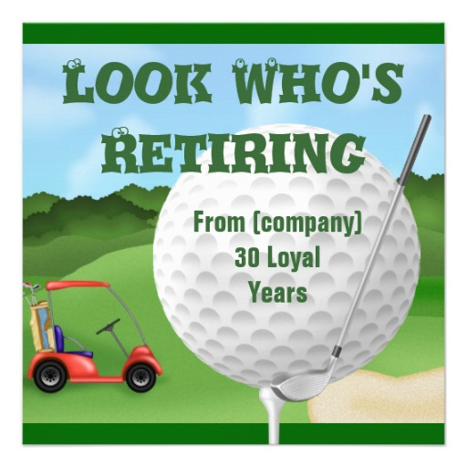Funny Golf Quotes For Retirement. QuotesGram