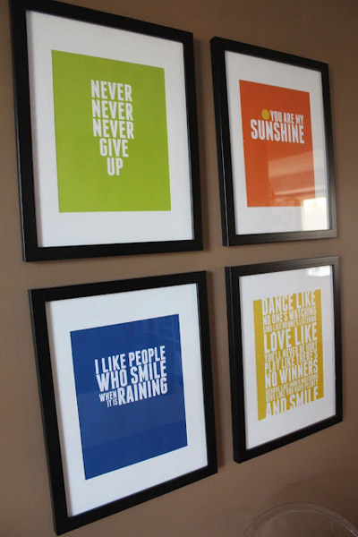 Office wall art inspirational quotes quotesgram for Wall art ideas for office