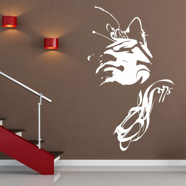 Personalized wall decals quotes quotesgram for Customize wall mural