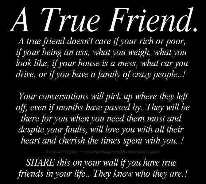 True Friend Quotes For Girls. QuotesGram