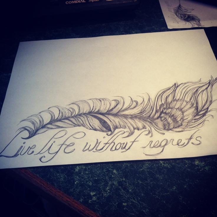 I Regret Tattoo Quotes Quotesgram: French Quotes Tattoos Sketches. QuotesGram