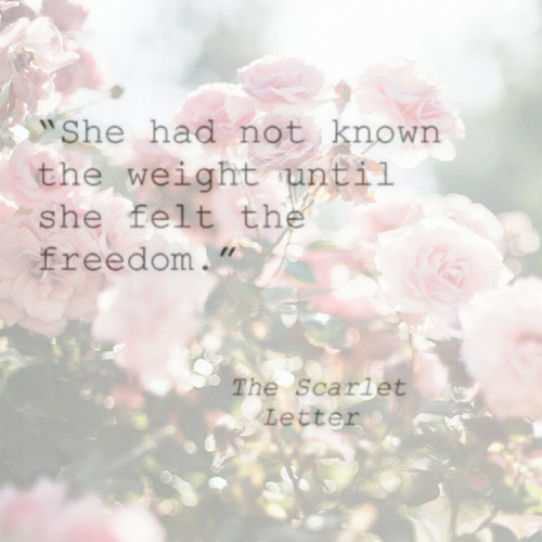 Romanticism In Scarlet Letter Quotes