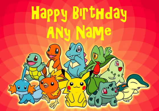 Mesmerizing image for pokemon birthday card printable