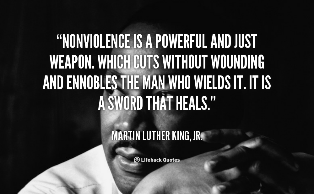 on violence and nonviolence the civil Supported by great ambassadors check out our ambassadors – personalities from around the world, standing up for the ambition to end violence while embracing peace.