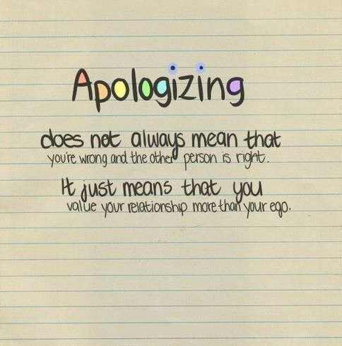 Quotes sorry saying im I'm Sorry