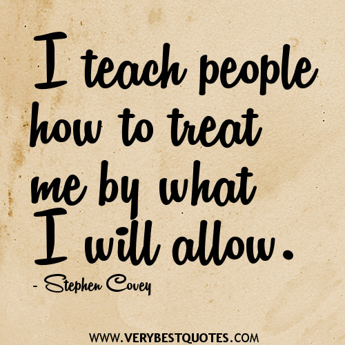 Treating People With Respect Quotes QuotesGram