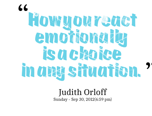 Quotes On Reacting To Situations. QuotesGram