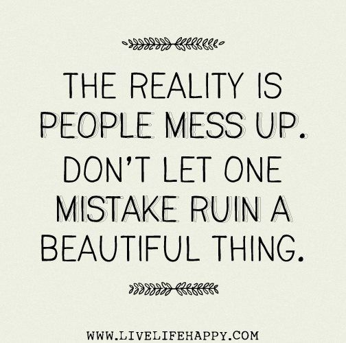 Messed Up Life Quotes: Quotes About Messing Everything Up. QuotesGram