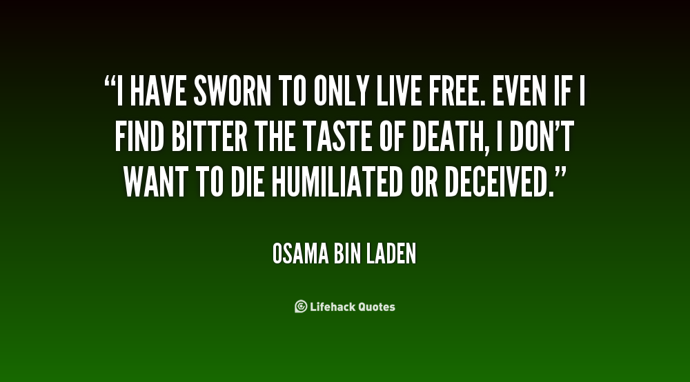 Osama Bin Laden Quotes About Americans Quotesgram