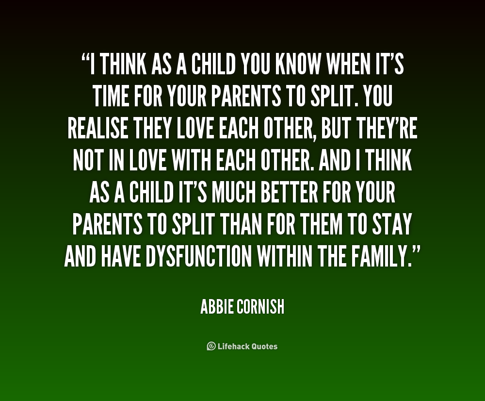 Quotes About Parents Love And Support Dysfunctional Quotes. ...