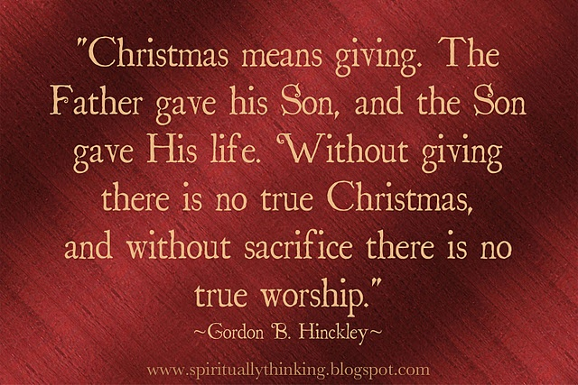 Holiday Season Quotes Inspirational Quotesgram: Christmas Giving Quotes Inspirational. QuotesGram
