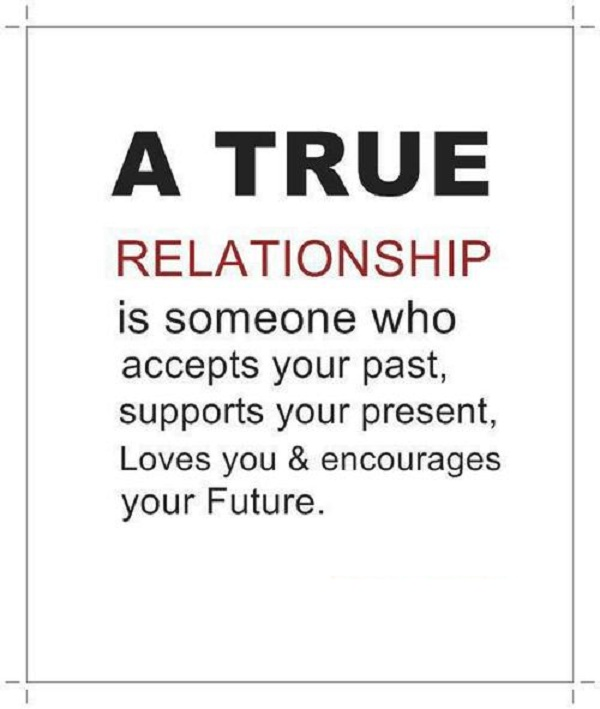 Relationship what is real a 8 Real