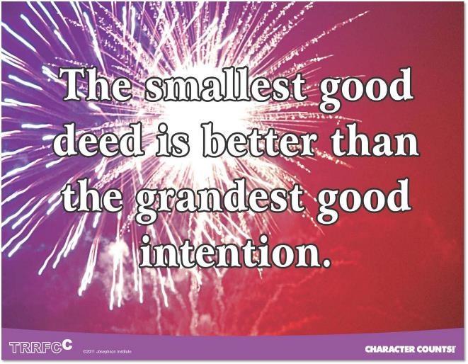 Good Deeds Quotes. QuotesGram