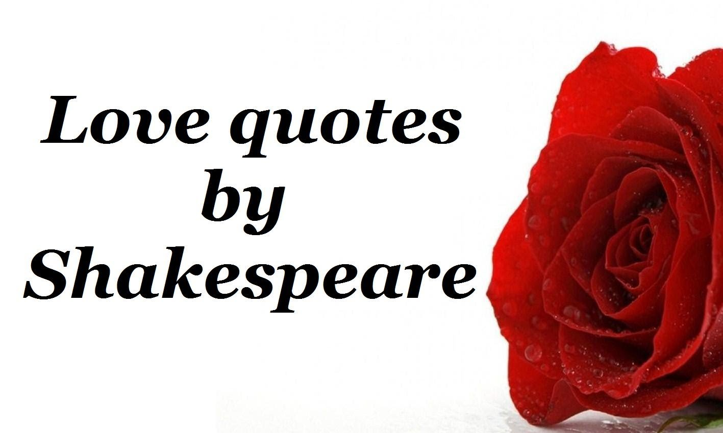 Quotes About Love: Shakespeare Quotes About Love. QuotesGram