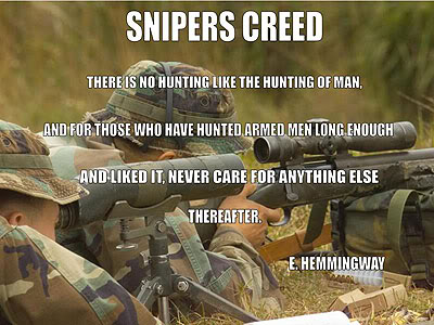 Famous Sniper Quotes - Forum Page 2
