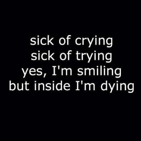 Quotes Dying Inside. QuotesGram  Quotes Dying In...