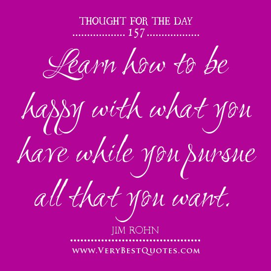 Thought For The Day Quotes: Happy Thoughts Quotes For The Day. QuotesGram