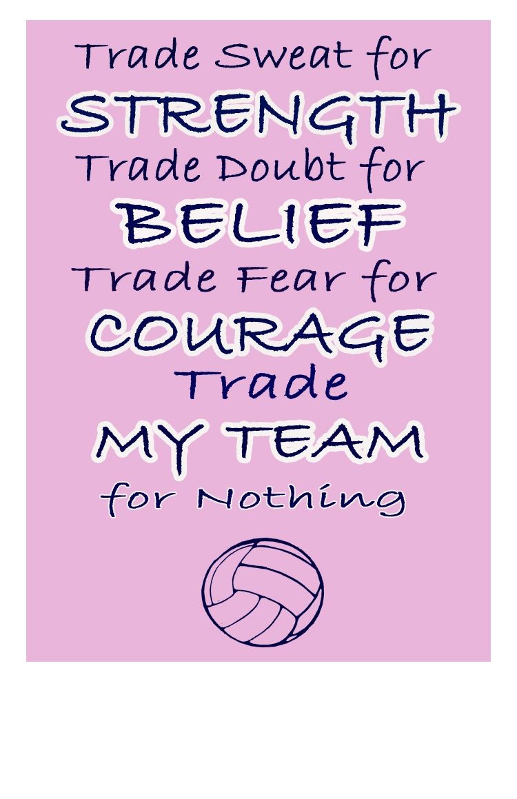 Motivational Team Quotes Volleyball: Inspirational Sports Quotes For Volleyball. QuotesGram