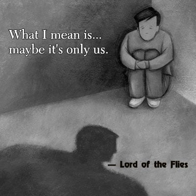 the human nature at a young age in the book lord of the flies by william golding (student sample 1) lord of the flies by william golding is traits of human nature in lord of the flies, tells the story of young british boys whose.