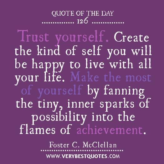 Self Trust Quotes. QuotesGram