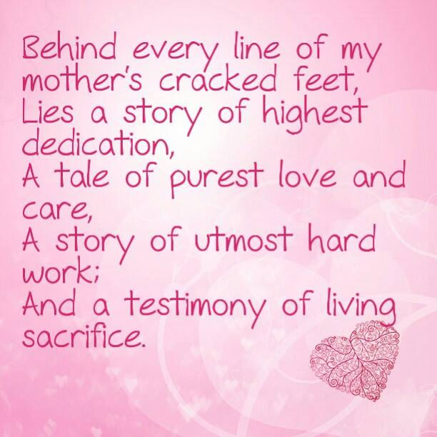 the unconditional love from a mother to a daughter A girl writes a tribute to her mother's unconditional love even when she gave up on herself, her mother was always there to lend a helping hand.