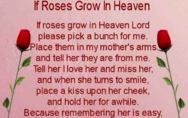 Birthday Quotes For Mom Who Died. QuotesGram