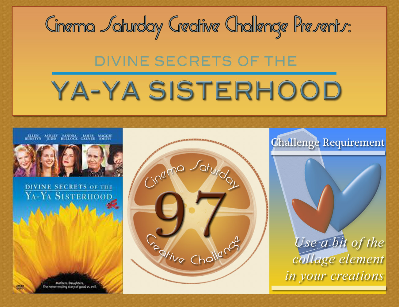 the divine secrets of the ya Divine secrets of the ya-ya sisterhood screenwriter callie khouri makes her directorial debut with this adaptation of a pair of popular novels by author rebecca wells, divine secrets of the ya-ya sisterhood and little altars everywhere .