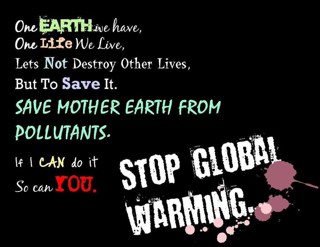 stop global warming quotes quotesgram