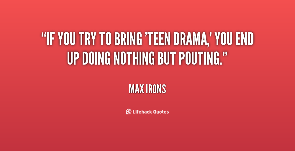 Drama Free Quotes Life. QuotesGram