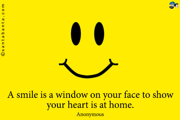Quotes about smiling faces quotesgram for Window quotes goodreads