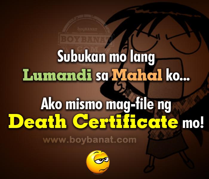 Tagalog Quotes Patama Sa Kaaway. QuotesGram Patama Quotes Para Sa Mga Mayayabang