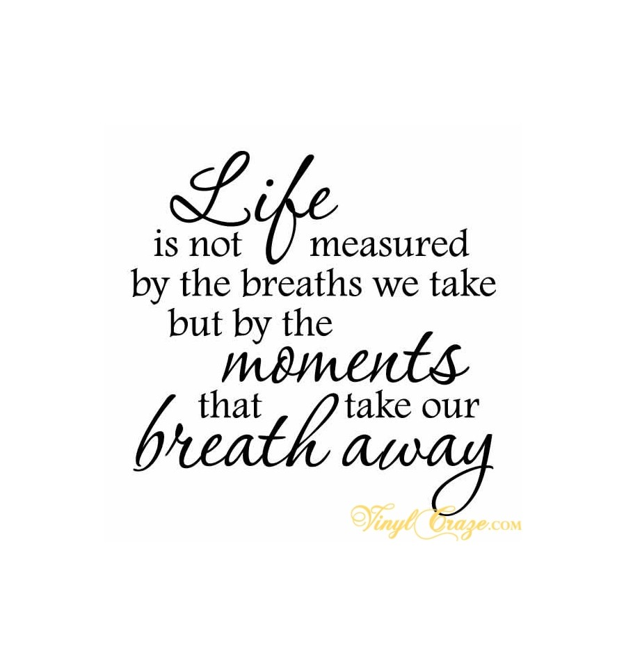 Life Is Not Measured By The Breaths Quote: Quotes About Life Is Not. QuotesGram