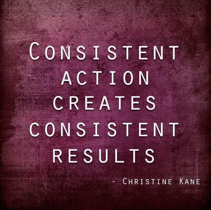 Motivational Quotes Consistency Quotesgram