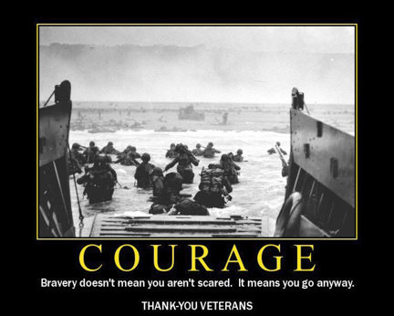 Motivational Military Quotes On Courage Quotesgram