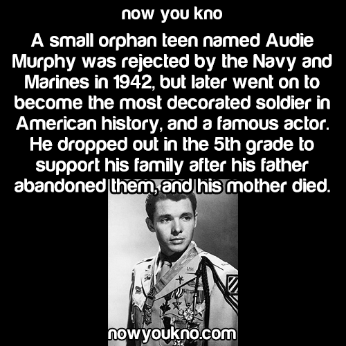 audie murphy short essay Audie murphy world war two was the greatest of all wars ever fought on this earth, with millions of men from every corner of the planet fighting for in conclusion audio murphy was perhaps the most import unit during the entire war he killed two-hundred and forty enemies in the process of saving his.